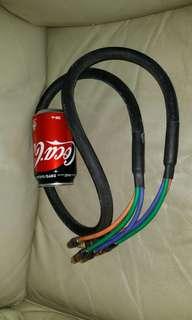 AR 高級音響線,Acoustic Research high class delux Hi Fi cable, 五呎長,屯門交收,或順丰到付