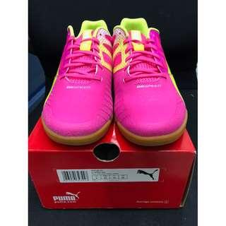 Puma EvoSpeed Sala 粉紅色貴版平底足球鞋