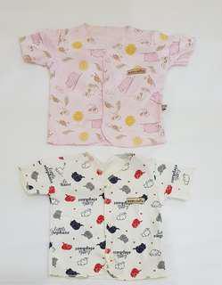 Baju atasan bayi newborn