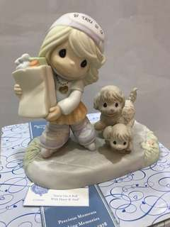 Precious Moments Figurine 2007 FC890005 You are on a roll with heart and soul