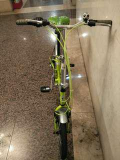 台灣製造21吋七速變速折疊腳踏車