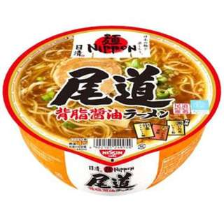 日本 尾道背脂醤油拉麵