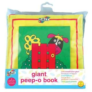 Baby Cloth Book (Big book)