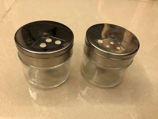 Salt and pepper container