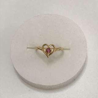 18K Ruby Ring