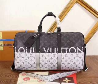 LV Keepall Bandoulière 50 in Monogram Other