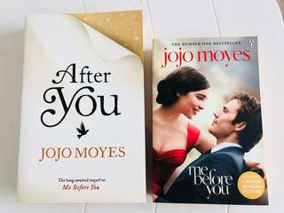 Fiction Jojo moyes: Me before you & After you