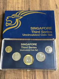 Singapore 2013 Uncirculated Coin Set (A023)