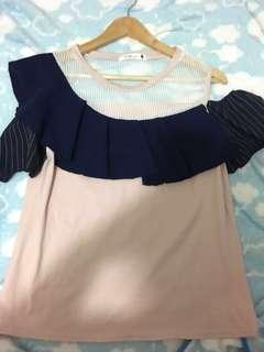 🇰🇷🎀korean baby pink cotton top