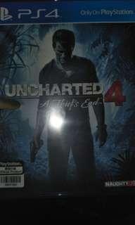 Jual kaset ps 4 uncharted