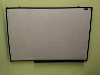 Whiteboard + IKEA Table