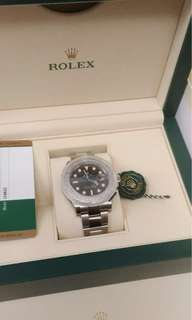 Rolex YM 116622 40mm 藍針