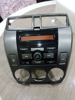 Honda City 2013 @ GM5 VCD/CD/Radio player cw panel ORIGINAL Honda