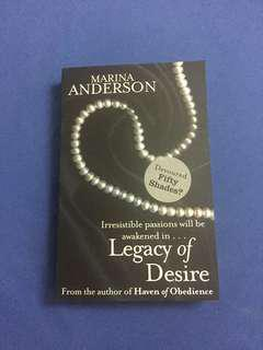 English Novel : Legacy of desire
