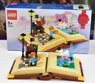 BNIB Lego 40291: Hans Christian Andersen