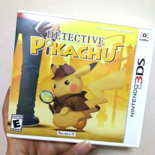 Detective Pikachu Pokemon Nintendo 3DS Game