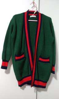 Brand New Green Cardigan