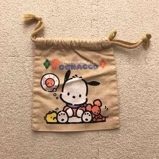 PC狗 Pochacco Sanrio 小型 索袋