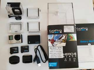 GoProhero4black & GoProHero4Session