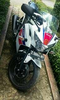 Honda CBR250 tahun 2013