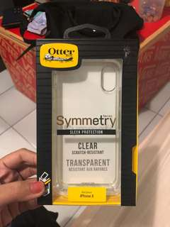 OtterBox Symmetry Series Clear Case iPhone X