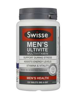 Swisse Men's Ultivite 120 Tablets