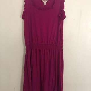 Bass pink dress