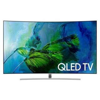 Samsung 55''Q8C QLED SMART 4K CURVED TV