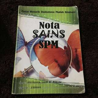 SCIENCE SPM Book