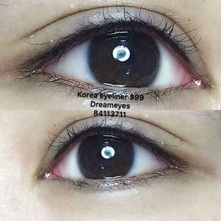 Korea eyeliner $99