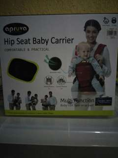 Apruva Hip Seat Baby Carrier