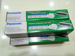 Panasonic ink film