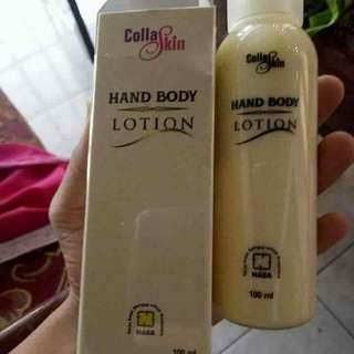 Collaskin hand body lotion
