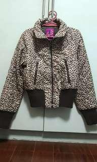 Leopard Print Winter Jacket ❄