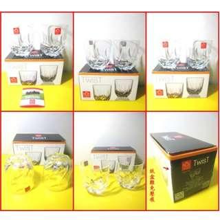 7-11義大利 RCR水晶杯-威士忌杯400ml(2入一組)