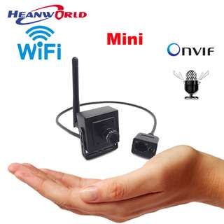 CCTV IP Mini Camera Wifi HD Smallest Wireless Surveillance Webcam Home Security Cam 720P Support Audio on Android Remote