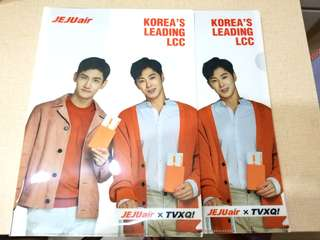 TVXQ ~ Jeju Air Folder