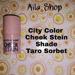 City Color Cheek Stein