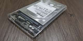 SALE! Cheap TWO pieces 2.5 inch hard disks
