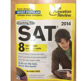 The Princeton Review: Cracking The SAT (2014 Edition)