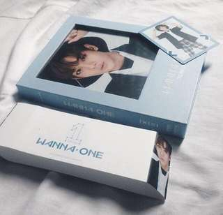 Wanna One Bae Jinyoung Full Set To Be One album