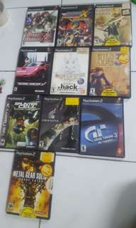 PS2 Original Games.