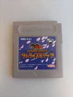 Gameboy Samurai Spirit サムライスピリッツ熱闘 侍魂 Game Boy