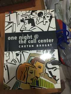 One night at the call centre by chetan bhagat