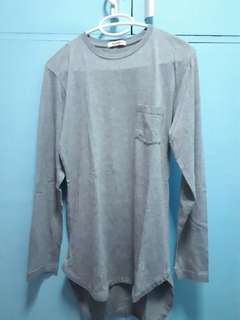 Bench Gray Loose Longline Shirt