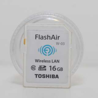 Flash Air 16GB Toshiba