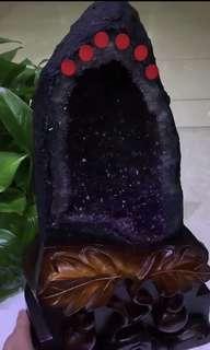 極品烏拉圭紫晶原礦