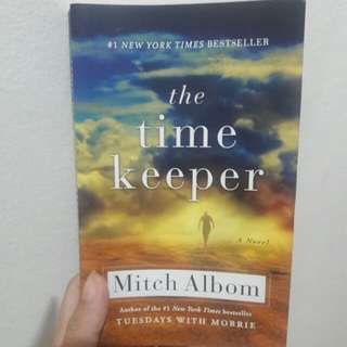 the time keeper (en) by mitch albom