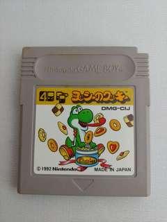 Gameboy Yoshi's cookie ヨッシーのクッキー Game Boy