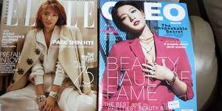 Elle Singapore June 2018 and Cleo Singapore July 2018